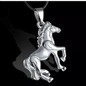 Stainless Steel Horse Animal Chain men's Necklace